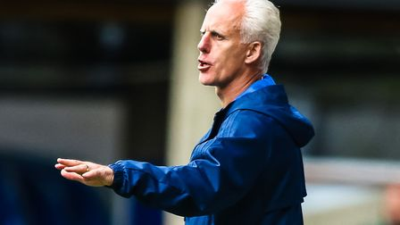Ipswich Town manager Mick McCarthy has called for calm heads. Photo: Steve Waller