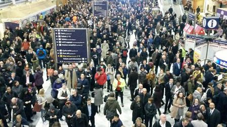 Many commuters now only travel to London two or three days a week. Picture: Joseph Spear