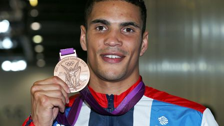 Anthony Ogogo with his Bronze medal. Picture: Nick Potts/PA Wire.