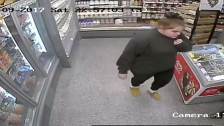 CCTV images released by police in connection with a suspected fraud. Picture: SUFFOLK CONSTABULARY
