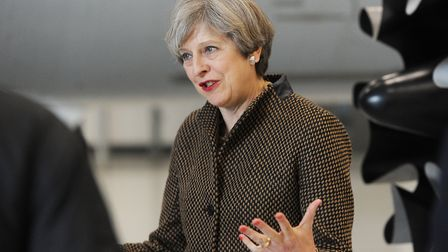 Prime minister Theresa May. Picture: NICK BUTCHER