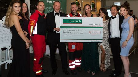Over £31,500 was raised for the Essex and Herts Air Ambulance at Beresfords' gala ball