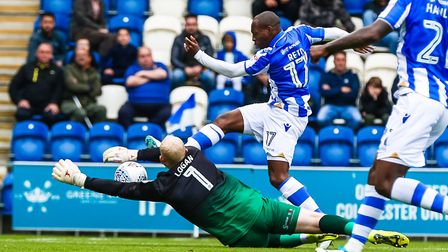 Kyel Reid, back in the U's fold after missing the game at Coventry