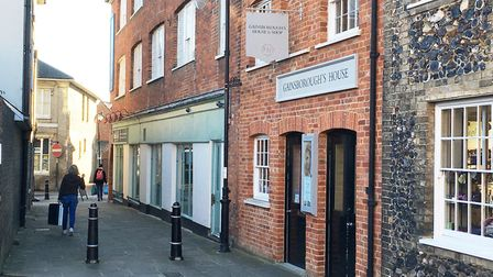 More than �100,000 was raised towards the Gainsborough's House transformation. Picture EMMA BRENNAN