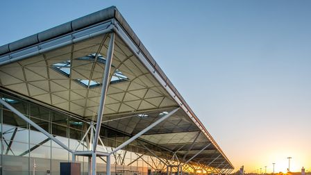 Stansted's terminal extension. Picture: STANSTED