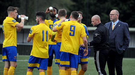 Mark Morsley and his AFC Sudbury side hit the road in the FA Trophy this weekend. Picture: ANDY ABBO