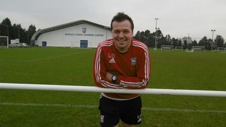 Lee O'Neill is manager of the Ipswich Town Academy. Picture: IPSWICH TOWN
