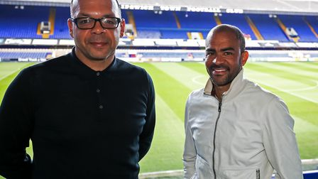 Jason Dozzell (left) and Kieron Dyer are just two of the ex-Town stars involved in the youth set-up.