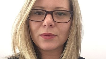 Ashleigh Seymour-Rutherford,chief executive of Colchester Business Enterprise Agency (Colbea). Pict