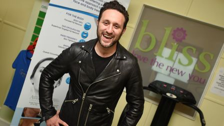 Antony Costa ready for his treatment at Bliss, part of Gymophobics, in Bury St Edmunds. Photo: Gregg