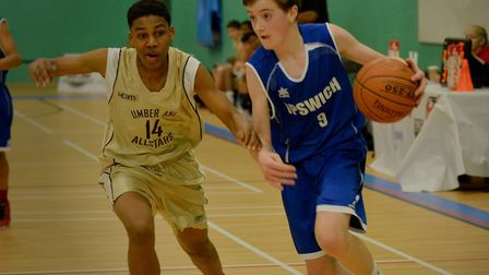 Ipswich's Ethan Price had an extraordinary game for the Under-16 Boys. Picture: PAVEL KRICKA