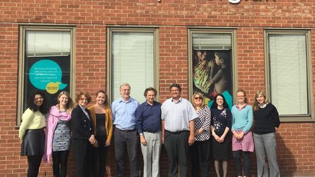 The Lepra team in Colchester. Picture: FIONA GRAHAM
