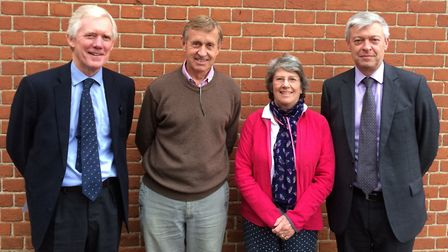 The Alde and Ore Estuary Partnership has made new legal appointments, pictured l-r, Savills director