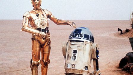 C3PO and R2D2 oneof the enduring comedy partnerships. Cinema lives for movies like Star Wars PA Pho