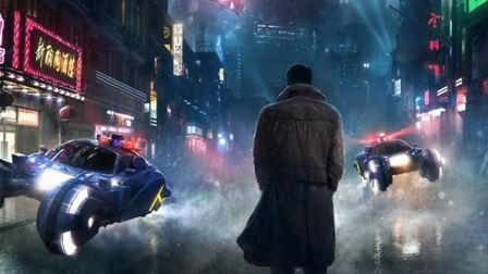 The future as depicted in the new Hollywood blockbuster Blade Runner 2049, starring Harrison Ford an