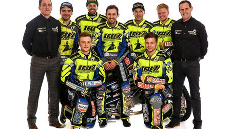 The team that never was. Ipswich Witches 2017 on press day. But this team never rode together in one