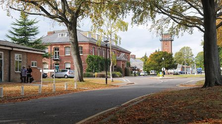 Hellesdon Hospital, headquarters of the Norfolk and Suffolk NHS Foundation Trust. Picture: JAMES BAS