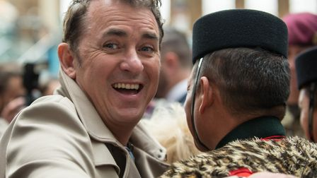 Shane Richie at London Poppy Day. Picture: SGT RUPERT FRERE/MOD CROWN