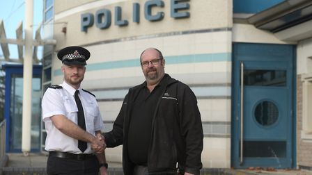 Brian Smith, from Chelmsford, has been rewarded £400 by a magistrate after he helped apprehend an a