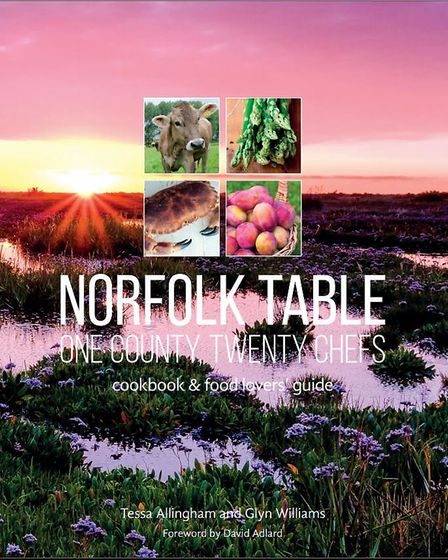 Norfolk Table - One County, Twenty Chefs; one of several food themed books Tessa has worked on. Phot