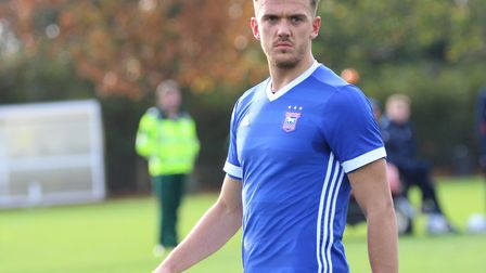Emyr Huws is not available for Ipswich Town's clash with Preston. Picture: ROSS HALLS