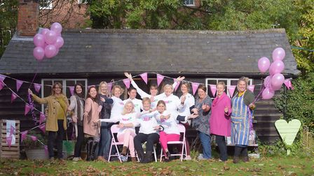 Celebrations were had at The Art Retreat in Woodbridge for Art for Cure, which has been given charit