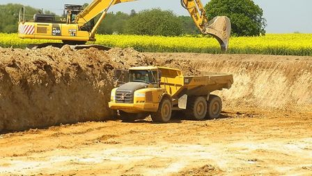 Sites in Suffolk have been identified for extra sand and gravel extraction - including the possibili