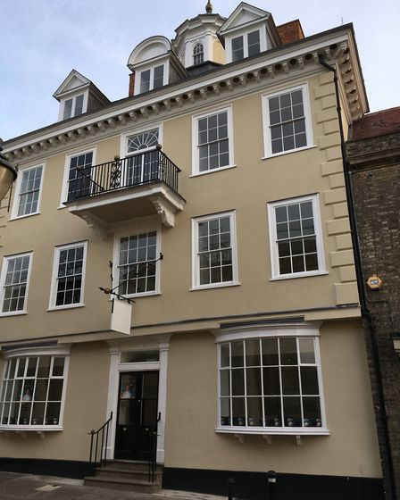 Cupola House, in Bury St Edmunds