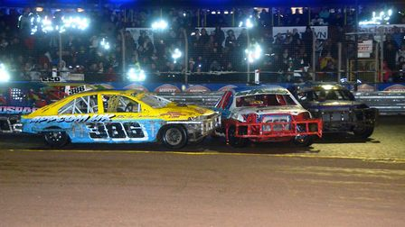 National stock saloon action at Foxhall.