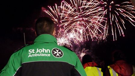 St John Ambulance is urging people to learn basic first aid ahead of bonfire night. Picture: ST JOHN