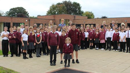 Opening of the new building at Houldsworth Primary Academy. Picture: GOODERHAM PR