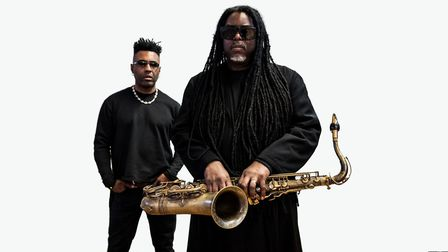 Courtney Pine and Omar. Photo: Contributed