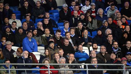 Ipswich fans at Cardiff Picture Pagepix