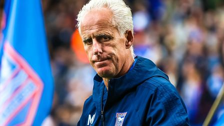 Ipswich Town manager Mick McCarthy is celebrating five years in the job. Photo: STEVE WALLER