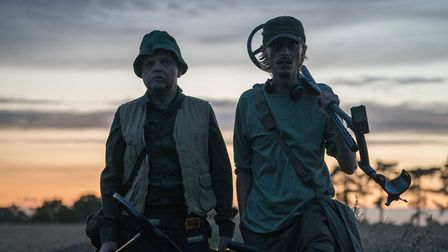 TV series Detectorists attracted a couple to move to Framlingham from America. Picture: CHRIS HARRIS