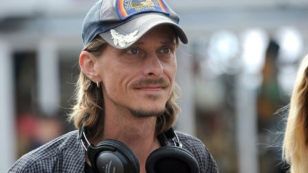 Mackenzie Crook on the set of a previous series. Picture: PHIL MORLEY