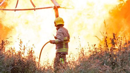 NFU Mutual says there has been a steep rise in farm fire claims in the East of England. Picture: JOH