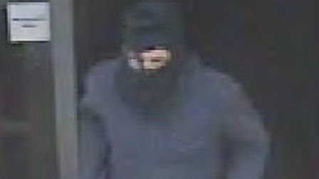 One of the men involved in the raid at the Tesco store in Colchester