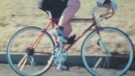 The bike which was stolen from outside Stowmarket Library. Picture: SUPPLIED BY SUFFOLK CONSTABULARY