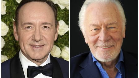 Kevin Spacey (left) is getting cut out of Ridley Scotts finished film All the Money in the World