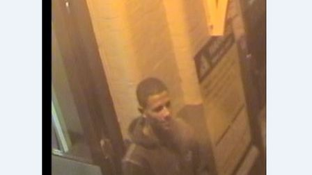 Police would like to speak to this man in connection to an assault at Witham Railway Station. Pictur