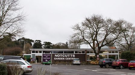 View of Notcutts from the street. Picture: RUTH LEACH
