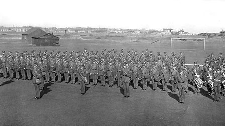 Landguard Common, Felixstowe, in September 1939 with 166 Heavy Coastal Battery RA with the regiment