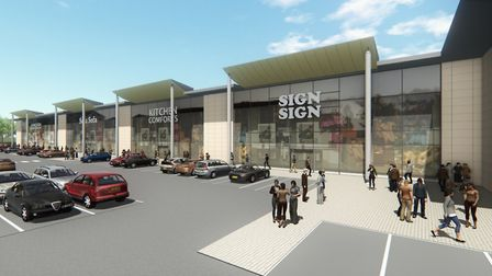 Artist's impression of the Stane Park development in Stanway. Picture: CHURCHMANOR ESTATES