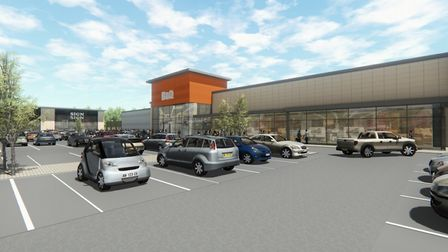 B&Q could be on its way to Stane Retail Park in Stanway if new plans get the green light. Picture: C