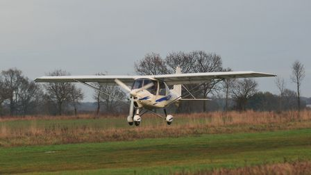 Mid Anglia Microlights have set up at Ellough airfield offering flying lessons.