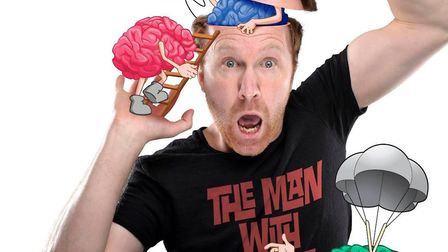 Jason Byrne brings new tour The Man With Three Brains to the region. Photo: Contributed
