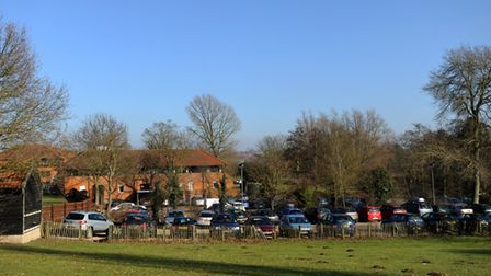 The long-time Babergh District Council HQ in Corks Lane, Hadleigh, in 2010. Picture: Simon Parker