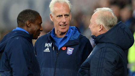 Mick McCarthy's Ipswich Town have 24 points from 15 matches. Picture: PAGEPIX