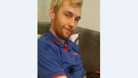 Dayle Saunders has been reported missing from Ipswich. Picture: SUFFOLK CONSTABULARY